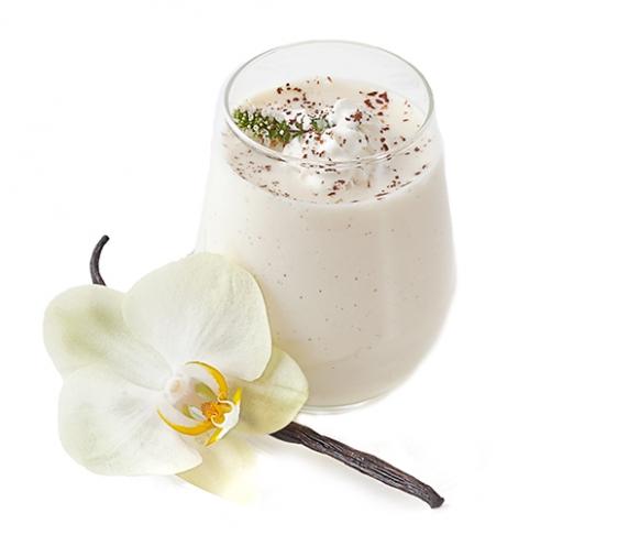 Pudink s příchutí vanilky v prášku, se sladidly